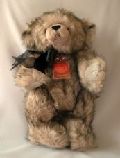 Samson Jointed Signature Bear, soft toy by Keel Toys.